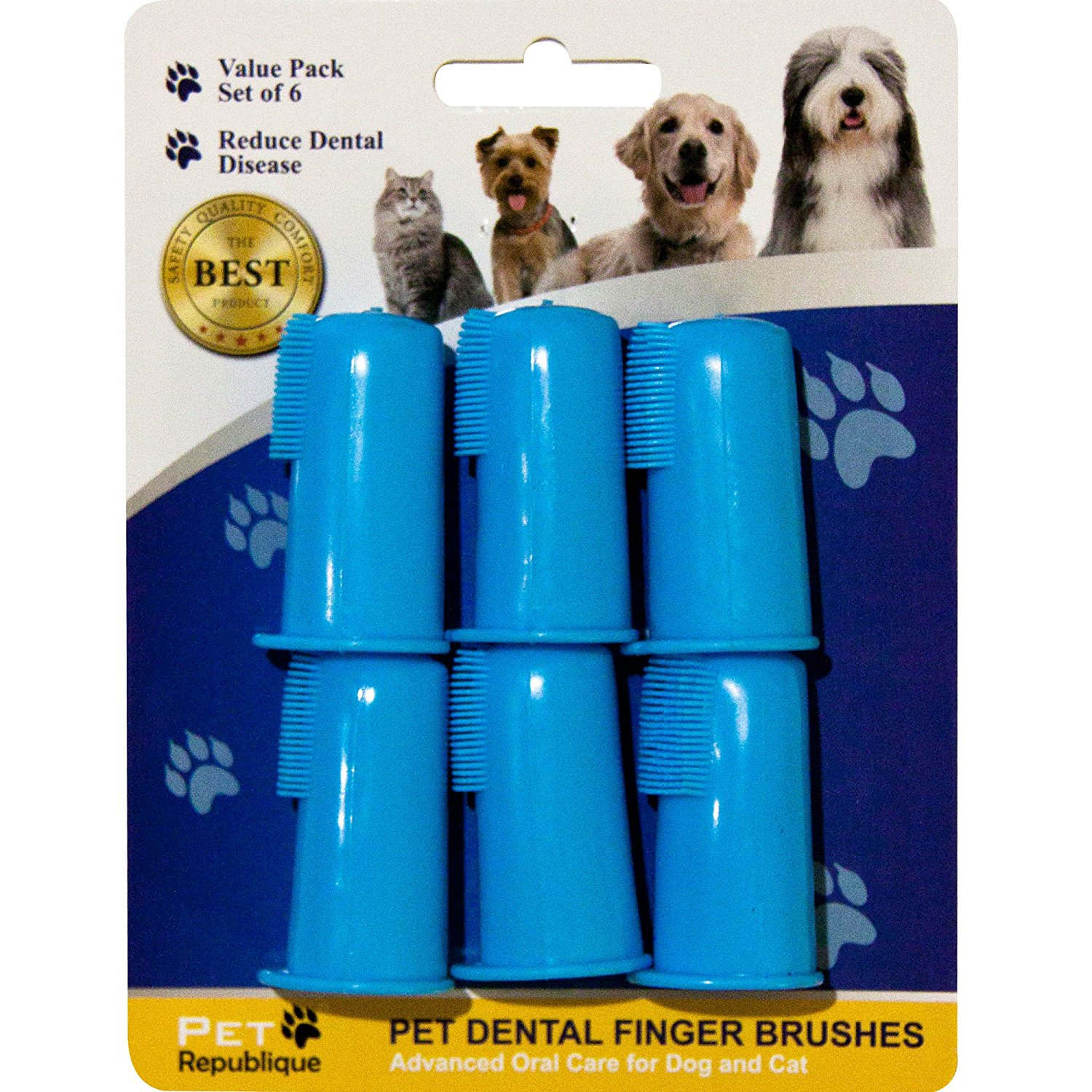 Pet Republique Dog Finger Toothbrush