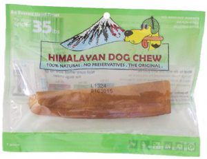 Himalayan Dog Chew Green - For Dogs Under 35 lbs