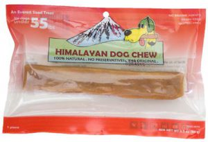 Himalayan Dog Chew Red - For Dogs Under 55 lbs