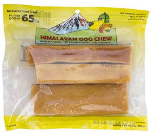 Himalayan Dog Chew Yellow - For Dogs Under 65 lbs