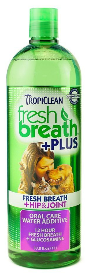 TropiClean Fresh Breath Water Additive Plus Hip and Joint