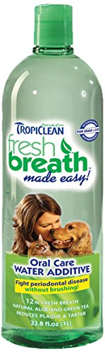 TropiClean Fresh Breath Water Additive - Regular