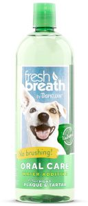 Tropiclean Fresh Breath Water Additive Daily Oral Hygiene Care